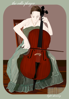 the cello player by lightshining