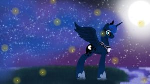 Princess of the Night by HannahTheArtistic