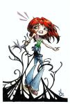 Mary Jane Watson Doll - The Symbiote Strikes by LostEmerald