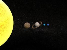 Solar System Planets by ElaineG