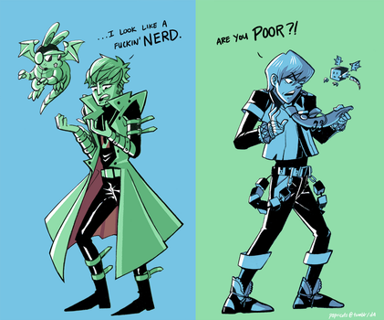 DMMd x YGO: Pot, Meet Kettle by papricots