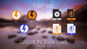 FlatFiles 1.1 - DAEMON Tools + .iso by javijavo93