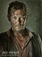 The Walking Dead: Daryl: HDR Re-Edit by nerdboy69