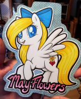 MayFlowers badge by onnanoko