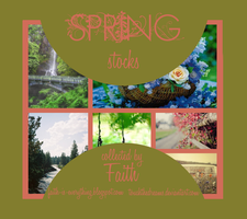 Spring Stock By Faith by TouchTheDreams