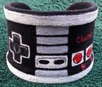 NES Themed Hand Painted Custom Wrist Cuff by Ceil