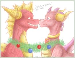 Silly Xmas by Amirah-the-cat