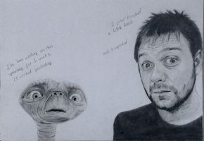 Tom Meighan (Kasabian) and ET by CamilaWay