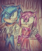 sonic boom:sonamy: picture time by shadowninja3
