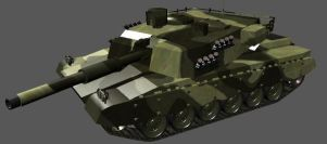 Main Battle Tank by EBR-KII
