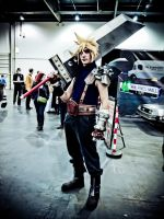Cloud Strife by ReverendRyu