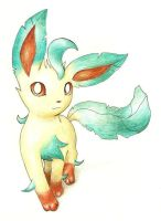 Leafeon by Tyltalis
