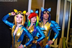 Katsucon 2015 - Wonderbolts(PS) 17 by VideoGameStupid