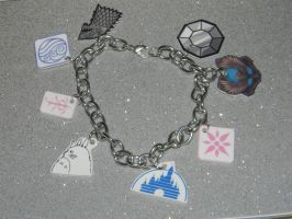 COMM customized charm bracelet by kouweechi