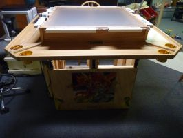 Game Table with Panels by cyderak
