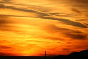 1-18-13 Sunset 4 by Arisingdrew