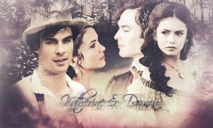 Katherine E Damon Wallpaper by StefinaGraphicART