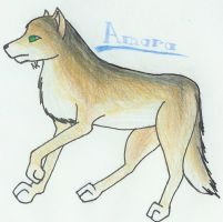 Amara for Wolfie by CuteKittyStudios
