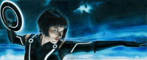 TRON: Quorra by Angelstorm-82