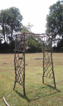 Handmade Twig Arbor by Lioness123