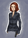 Black Widow by TheAngelCookie