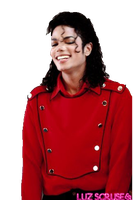 Michael Jackson Smile PNG by LuzScruse