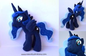 Princess Luna Plush by Dragons-Garden
