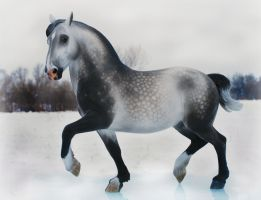 Bacchus in Grey by FriesianFury