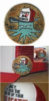 Squidbillies Hat + Pin by M-Everham