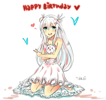Minna-san, Arigatou for the birthday wishes! by hyuugalanna