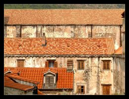 Roofs Of Dubrovnik - 1 by skarzynscy