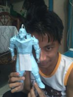 me and my Alphonse papercraft by sheilaves