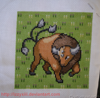 Tauros Patch by IzzyXIII