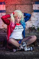 Harley Quinn - Suicide Squad by Paper-Cube