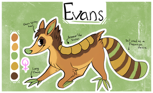 Evans Ref by GemFeathers