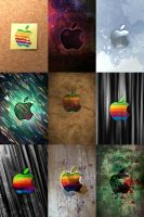 Apple Logo Wallpapers by eliburford
