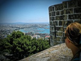 A view from bellver castle mallorca by LeopoldXXX