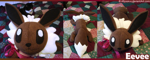 Eevee Plushie by Allyson-x