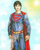 Smallville Superman by Jimmy-B-Deviant