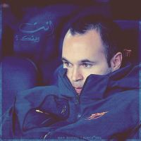 Miss you .. Andres Iniesta by w6n3oshaq