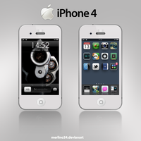iPhone 4 by merlino24