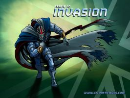 Issue 10: Invasion 2 by CaptainMyotis