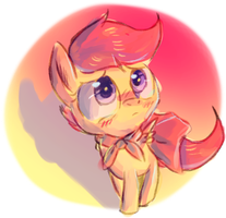 Scootaloo by Spanish-Scoot