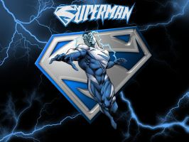 Superman Blue Wallpaper by Superman8193