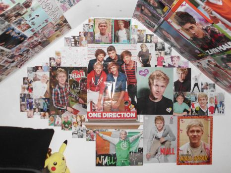 MY Third 1D Wall Of NIALL HORAN FINISHED by ZANEkun