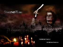 Sweeney Todd Wallpaper by evionn