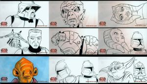 Clone Wars Widevision 3 by grahamart