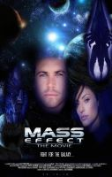 Mass Effect Movie Poster by RedVirtuoso