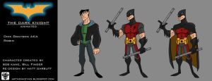Robin Boywonder DARK KNIGHT ANIMATED by ARTMONKEYMG