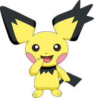 Gizamimi Pichu by pokesafari